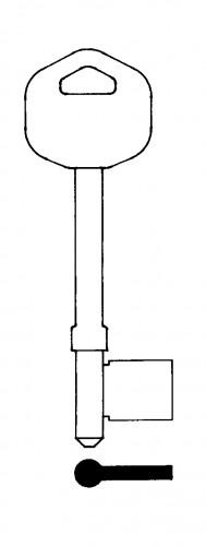 Guardian TS304 Steel Mortice Blank (Pack of 10)