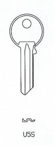 Universal U5S Errebi Cylinder Blank (Pack of 10)